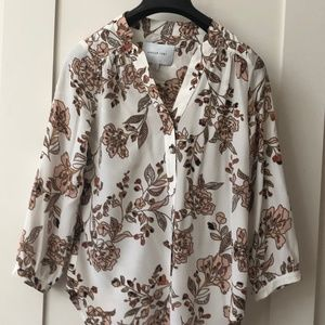 Amour Vert Amy Floral Blouse - S